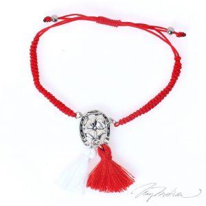 Pulsera Martisor CORTEHERR en rojo de la Colección MARTIE