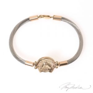 Pulsera herradura de Shangai de la Colección CORONA