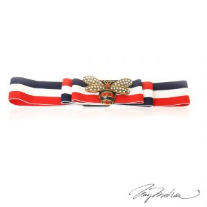 Cinturon ajustable y elástico ABEJA FRANCIA inspirado el diseño itaiano