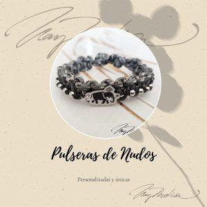 Pulsera Madrid en 2 Ruedas PARACORD 2personalizada